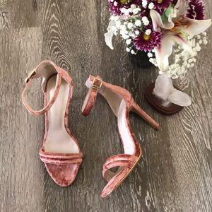 Kenneth Cole velvet heels